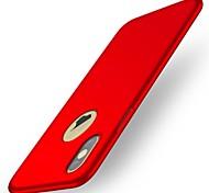economico -telefono Custodia Per Apple Per retro iPhone X iPhone 8 Plus iPhone 8 iPhone 7 Plus iPhone 7 iPhone 6s Plus iPhone 6s iPhone 6 Plus iPhone 6 iPhone SE / 5s Ultra sottile Tinta unita Resistente PC
