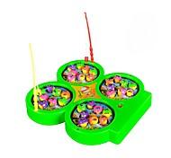 abordables -Jouets de pêche Jouet musical Jouet de pêche rotatif Electrique 4 joueurs Enfant Jouet Cadeau 1 pcs