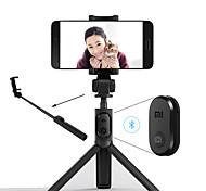 economico -xiaomi pieghevole treppiede monopiede selfie stick bluetooth con pulsante selfie pulsante di scatto wireless per ios / android / xiaomi