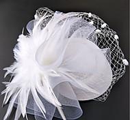 economico -A rete fascinators / cappelli / Cappelli con Fantasia floreale 1pc Matrimonio / Occasioni speciali / Corsa di cavalli Copricapo