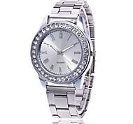 economico -Per donna Per uomo Orologio da polso Orologio di diamanti Analogico Quarzo Con ciondoli Orologio casual / Metallo