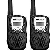 abordables -bellsouth t388 poche 2 pièce t-388 3-5km 22 frs et gmrs radio uhf pour talkie-walkie enfant radio bidirectionnelle interphone