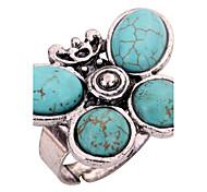 economico -Anello a metà dito Turchese Verde Turchese Lega Farfalla Personalizzato Regolabile / Per donna