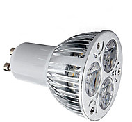 economico -1 pc 9 W Faretti LED 600 lm GU10 3 Perline LED LED ad alta intesità Decorativo Bianco caldo Luce fredda 85-265 V