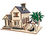 abordables -Puzzles 3D / Puzzle / Kit de Maquette Niches / Mode / Maison Enfants / Design nouveau / Grosses soldes En bois 1 pcs Classique / Moderne / Contemporain / Mode Enfant Cadeau