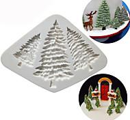 abordables -silicone arbre de noël moule à cake pin arbre biscuits au chocolat moule cuisine outils de cuisson