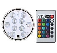 abordables -1 set 4 W Ampoules LED Intelligentes 200-250 lm B 10 Perles LED SMD 5050 Imperméable Commandée à Distance Décorative RGB 4.5 V