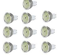 abordables -10pcs 6 W Spot LED 600 lm E14 GU10 GU5.3 48 Perles LED SMD 2835 Décorative Blanc Chaud Blanc Froid 85-265 V / RoHs