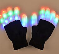 abordables -Noël Vacances Eclairage LED Jouets Lumineux Gants LED Finger Lights Éclairage Bout des Doigts Adulte pour des cadeaux d'anniversaire et des cadeaux 2 pcs