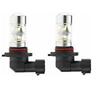 abordables -SENCART Automatique LED Lampe Frontale 9005 Ampoules électriques 1800 lm SMD 3030 100 W 20 Pour 2 pièces