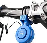 abordables -Klaxon de vélo électrique Alarme d'urgence 3 Modes Sonores Sécurité pour Vélo de Route Vélo tout terrain / VTT Motocross TT Vélo à Pignon Fixe Cyclisme Caoutchouc PC ABS Noir Rouge Bleu 1 pcs