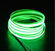 economico -BRELONG® 3M Fili luminosi 0 LED EL 2,3 millimetri 1 set Bianco Rosso Blu Impermeabile Auto-adesivo Strisce LED Tiktok <5 V