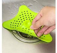 abordables -gel de silice salle de bains bouchon crépine filtre égouttoir cheveux catcher douche couverture évier bassin filtre couleur ramdon