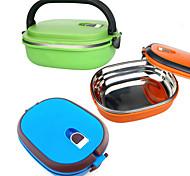 abordables -Organisation de cuisine Boîtes à Repas Acier Inoxydable Facile à Utiliser 1pc