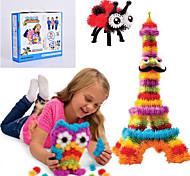 abordables -nouvelles bunchems bon paquet nouveau bâtiment jouets 370 pièces enfants diy jouent 36 Accessoires kit enfants meilleur cadeau