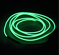 economico -BRELONG® 5m Fili luminosi 0 LED EL 1pc Bianco Rosso Blu Impermeabile Auto-adesivo Filo elettroluminescente al neon