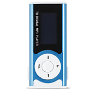 abordables -sport mp3 media player nouveau mini lecteur de musique brillant mini usb clip lcd support écran micro sd carte mp3 / wma
