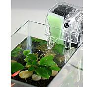 economico -Acquari Acquario Filtro per serbatoio di pesce Filtro dell'acquario Aspirapolvere Ompermeabile Lavabile in lavatrice Transparente Cascata Plastica ABS 1pc 220-240 V / #