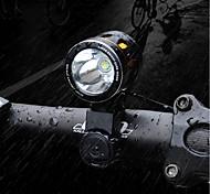 abordables -LED Eclairage de Velo Eclairage de Vélo Avant LED VTT Vélo tout terrain Vélo Cyclisme Imperméable Modes multiples Super brillant Portable Batterie au lithium 1000 lm Batterie rechargeable Blanc