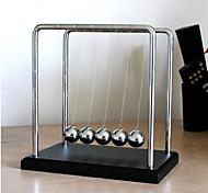 abordables -Balle d'équilibre Newton Cradle Jouet Educatif Anti-Stress Type de gravité Ornement en métal Soulagement de stress et l'anxiété Enfant Garçon Fille Jouet Cadeau 1 pcs