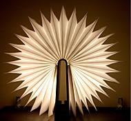 abordables -Ampoules LED en bois flip book lampe usb rechargeable veilleuse pliable créative booklight veilleuse design magnétique
