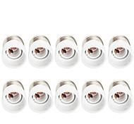 economico -10 pezzi E27 a E14 E14 Presa lampadina