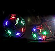 abordables -LED Eclairage de Velo Eclairage sécurité / feu clignotant velo LED Vélo Cyclisme Brillant CR2032 200 lm Batterie CR2032 Rouge Bleu Vert Cyclisme