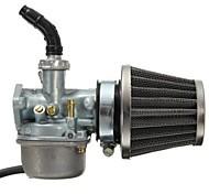 abordables -filtre à air carburateur pz19 et filtre à air de 35mm pour 50cc 70cc 80cc 90cc 110cc 125cc dirt bike taotao honda crf atv scooter cyclomoteur go karts
