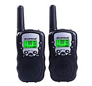 abordables -baofeng t3 mini poche 1.5km-3km talkie-walkie radio bidirectionnelle portable interphone supporte vox fuction 22ch