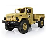 abordables -Modèle de Voiture Rechargeable Télécommande Electrique 1:16 Buggy (Hors des routes) Camion Rock Climbing Car Pour Cadeau