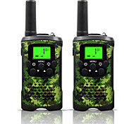 cheap -Two Way Radio Intercom 22 Channel 3 Miles Long Range Kids Walkie Talkies Boys Girls Toys Gifts Battery Powered Walky Talky with Flashlight for Outdoor Adventure Camping (Camo)