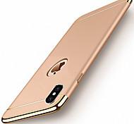 economico -telefono Custodia Per Apple Per retro iPhone 11 iPhone 11 Pro iPhone 11 Pro Max iPhone X iPhone 8 Plus iPhone 8 iPhone 7 Plus iPhone 7 iPhone 6s Plus iPhone 6s Placcato Tinta unita Resistente PC