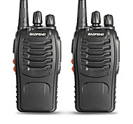 abordables -BAOFENG 2 Pcs BF-888S Portable Avertissement Batterie Faible / Logiciel PC Programmable / Invite Vocale 3 - 5 km 3 - 5 km 5 W Talkie walkie Radio bidirectionnelle / 400 - 470 MHz / VOX