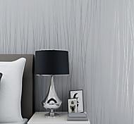 abordables -Matériau de tissu non tissé papier peint auto-adhésif décoration de la maison 3d revêtement mural contemporain revêtement mural de la chambre 300 * 45 cm