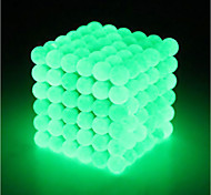 abordables -64 pcs 5mm Jouets Aimantés Boules Magnétiques Blocs de Construction Aimants de terres rares super puissants Aimant Néodyme Cube casse-tête Aimant Néodyme Grappe Type magnétique Phosphorescent