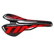 economico -Selle di bicicletta / Selle di bicicletta Leggero Traspirante Comfort Design cavo Fibra di carbonio Ciclismo Bici da strada Mountain bike Rosso