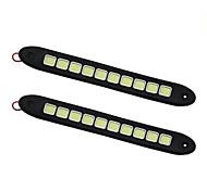 economico -Auto LED Luce di posizione Connessione cablata Lampadine 500 lm COB 10 W 1 Per Universali Tutti gli anni 2 pezzi