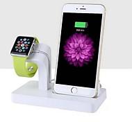 economico -orologio Apple Supporto con adattatore ABS Da scrivania