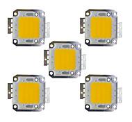 abordables -5pcs 2400 lm Accessoire d'ampoule Laiton Puce LED 30 W