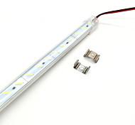 abordables -0,5 m Bande lumineuse LED Ruban LED Rigides 36 LED 15mm Blanc Chaud Découpable Lumières de bande LED Tiktok 12 V
