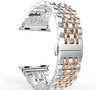 economico -Cinturino intelligente per Apple  iWatch 1 pcs Chiusura moderna Acciaio inossidabile Sostituzione Custodia con cinturino a strappo per Apple Watch Serie SE / 6/5/4/3/2/1 38 millimetri 40 mm 42