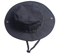 abordables -Homme Femme Bob Chapeau de pêche Chapeau de Randonnée Chapeau de boonie Eté Extérieur Coupe Vent Résistant aux UV camouflage Coton Noir Couleur camouflage Vert pour Chasse Pêche Escalade