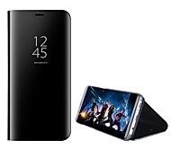 economico -telefono Custodia Per Samsung Galaxy Integrale Custodia flip S8 Plus S8 Bordo S7 S7 S6 edge plus Bordo S6 Con supporto A specchio Con chiusura magnetica Tinta unica Resistente PC