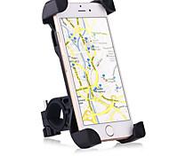 abordables -Titulaire Moto / Vélo Téléphone portable Support de support Support Ajustable Téléphone portable Type de boucle / Antidérapantes Supporter Silicone