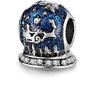 economico -Gioielli fai-da-te 1 pezzi Perline Lega Royal Blue Cilindro perlina 0.5 cm Fai da te Collana Bracciali