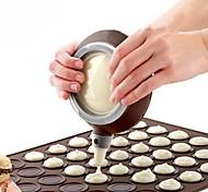 abordables -pot de macaron en silicone avec stylo de cuisson pour kit de 3 buses pour outils de décoration de gâteaux