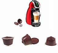 abordables -capsule réutilisable pour dolce gusto café nescafé rechargeable utilisation 150 fois