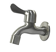 economico -accessorio rubinetto monocomando in acciaio inossidabile, rubinetto per lavatrice a parete di qualità superiore