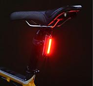 abordables -Eclairage de Velo Eclairage de Vélo Arrière Eclairage sécurité / feu clignotant velo VTT Vélo tout terrain Vélo Cyclisme Imperméable Portable Alarme Avertissement Lithium USB