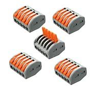 economico -ZDM® 5 pezzi Accessorio per strisce di luce Plastica Connettore elettrico